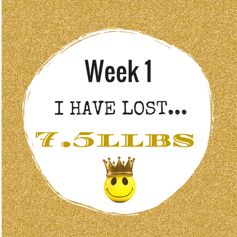 Week 1 Weigh In
