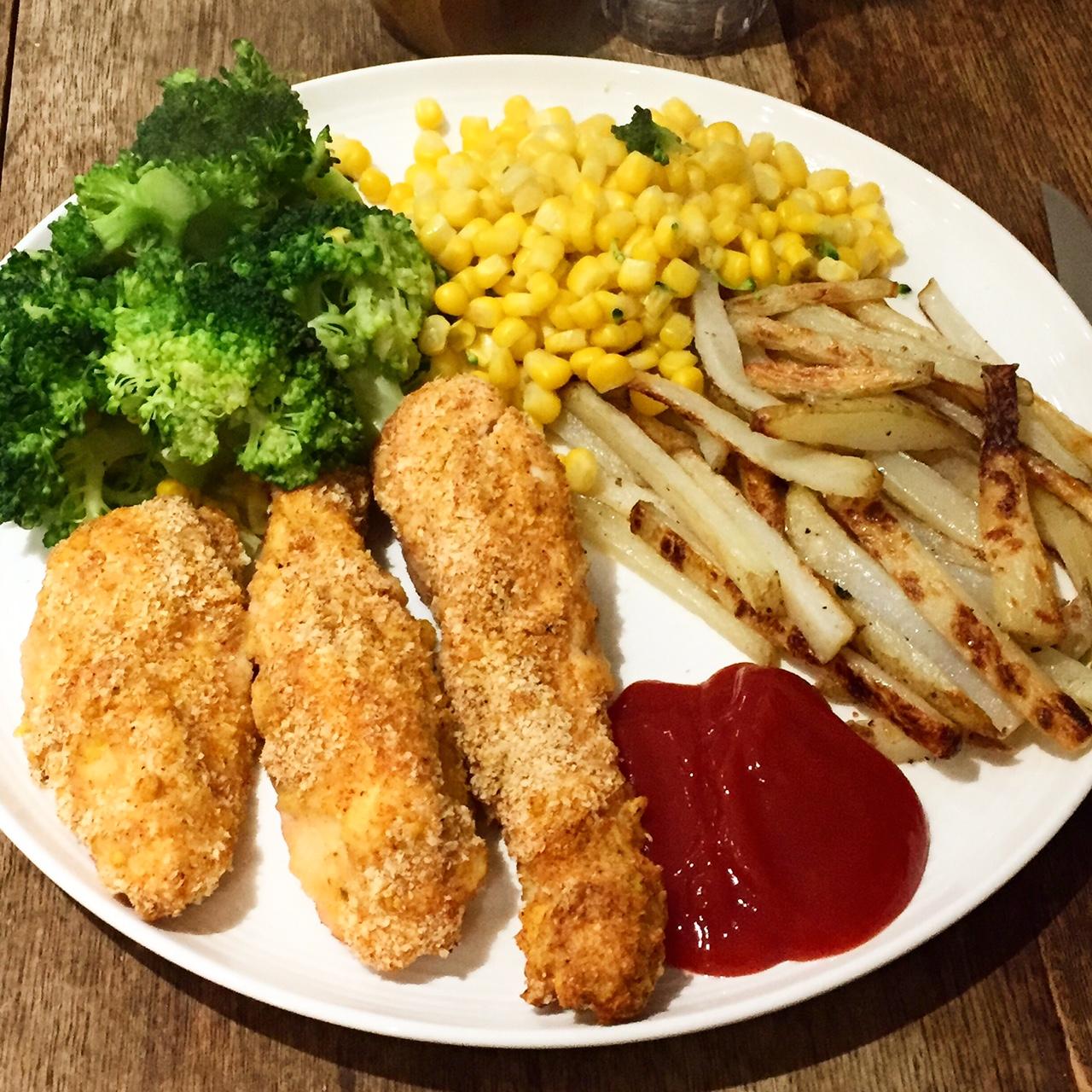 Homemade Healthy KFC Chicken - Basement