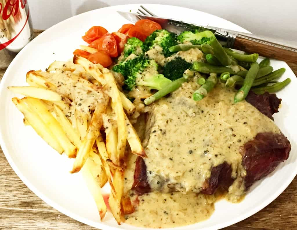 Slimming World Peppercorn Sauce - Syn Free