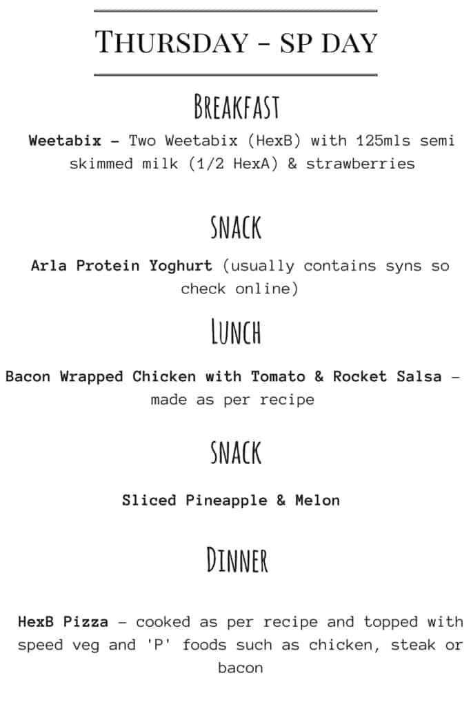 lose weight diet planner