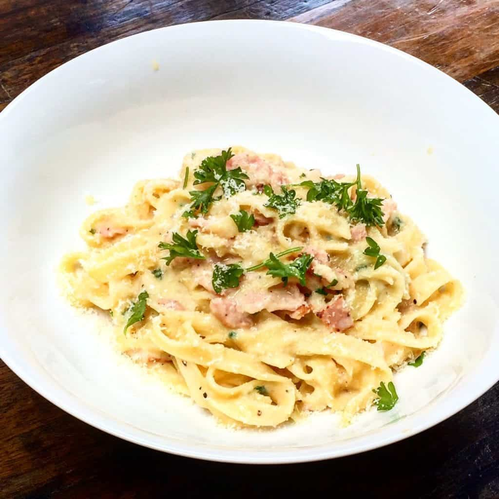 Syn Free Spaghetti Carbonara Slimming World