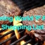 'P' Foods Shopping List