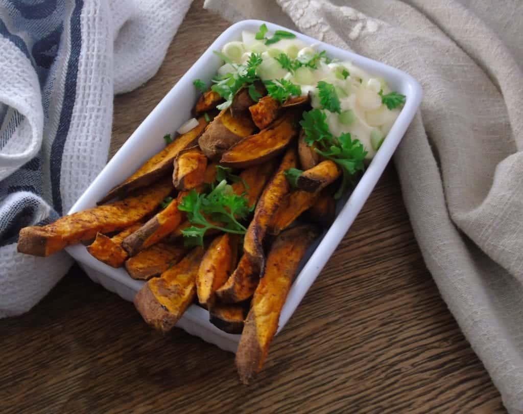 Syn Free Sweet Potato Fries