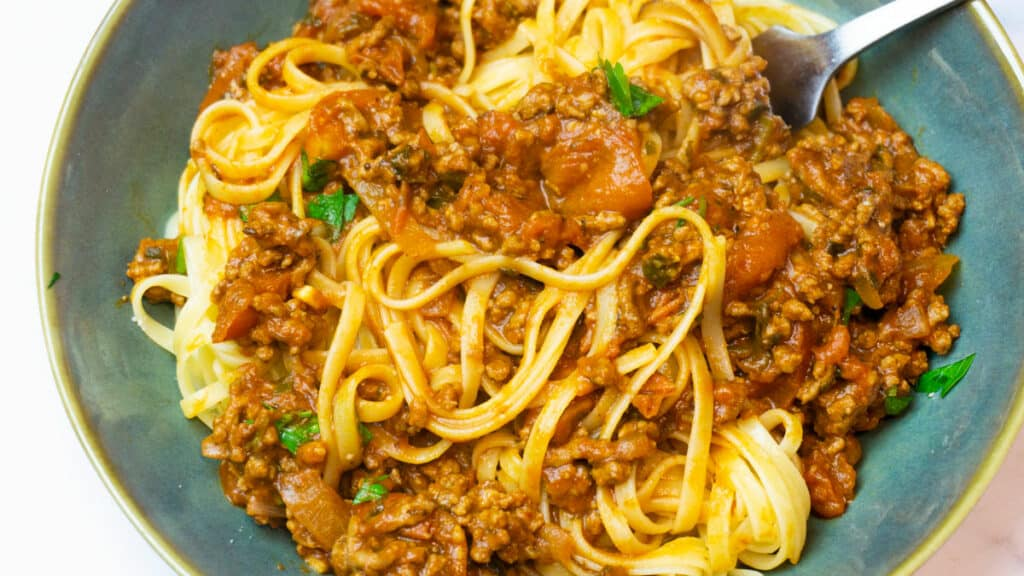 Syn Free Bolognese Slimming World Recipe