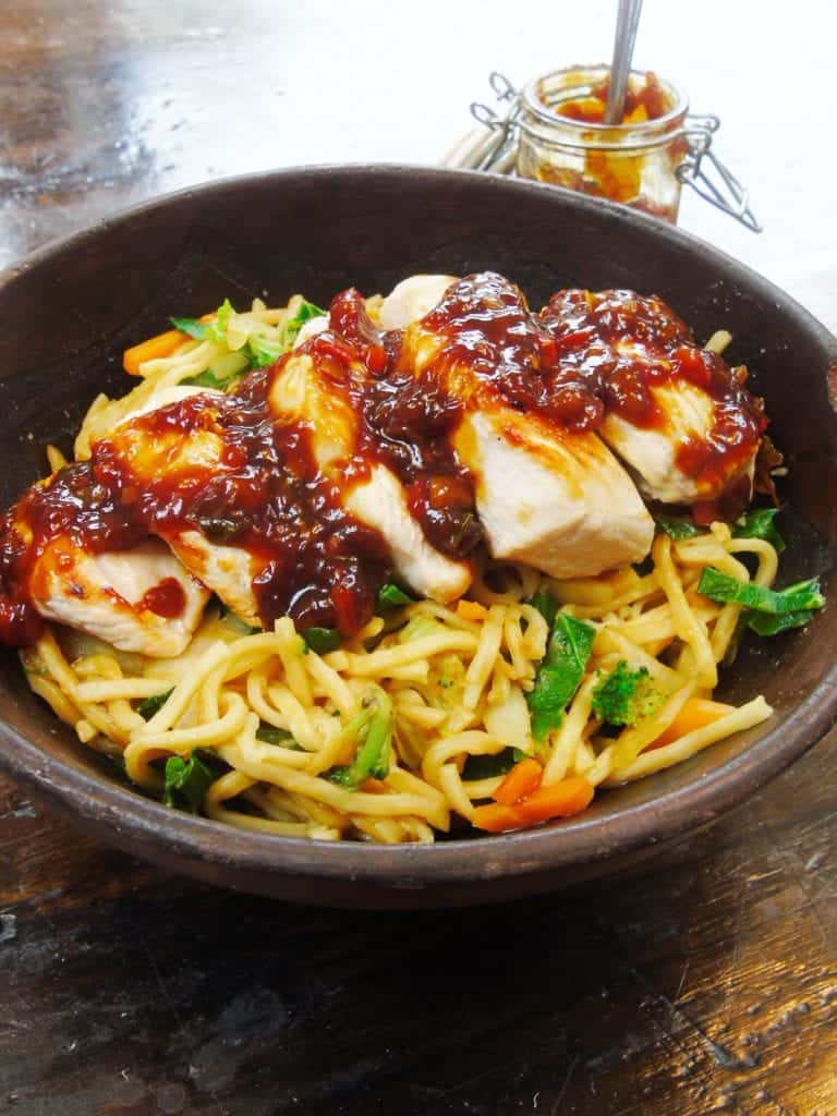 Grilled Chicken with Syn Free Sticky Asian Chilli & Garlic ...