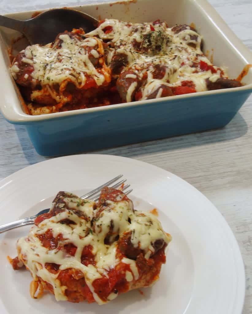 Syn Free Seriously Cheesy Baked Meatball Sub
