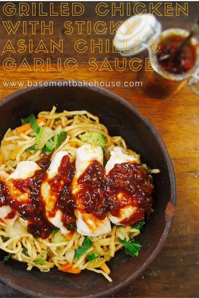 Grilled Chicken with Syn Free Chilli & Garlic Sauce - Basement Bakehouse - Slimming World Recipe - Syn Free