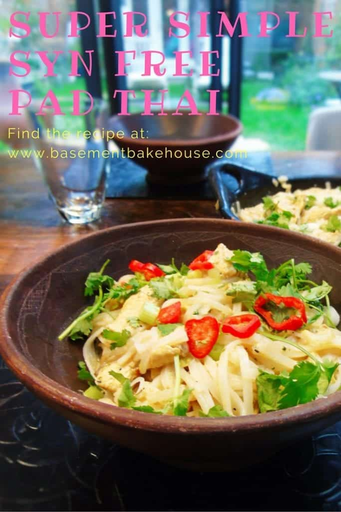 super simple syn free pad thai