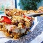 Strawberry Cheesecake Breakfast Bars