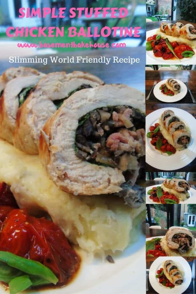 Seriously Simple Syn Free Stuffed Chicken Ballotine - Slimming World Recipe - Syn Free - Healthy Cooking - Healthy