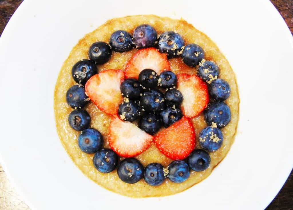 Syn Free Porridge With Fresh Berries Basement Bakehouse