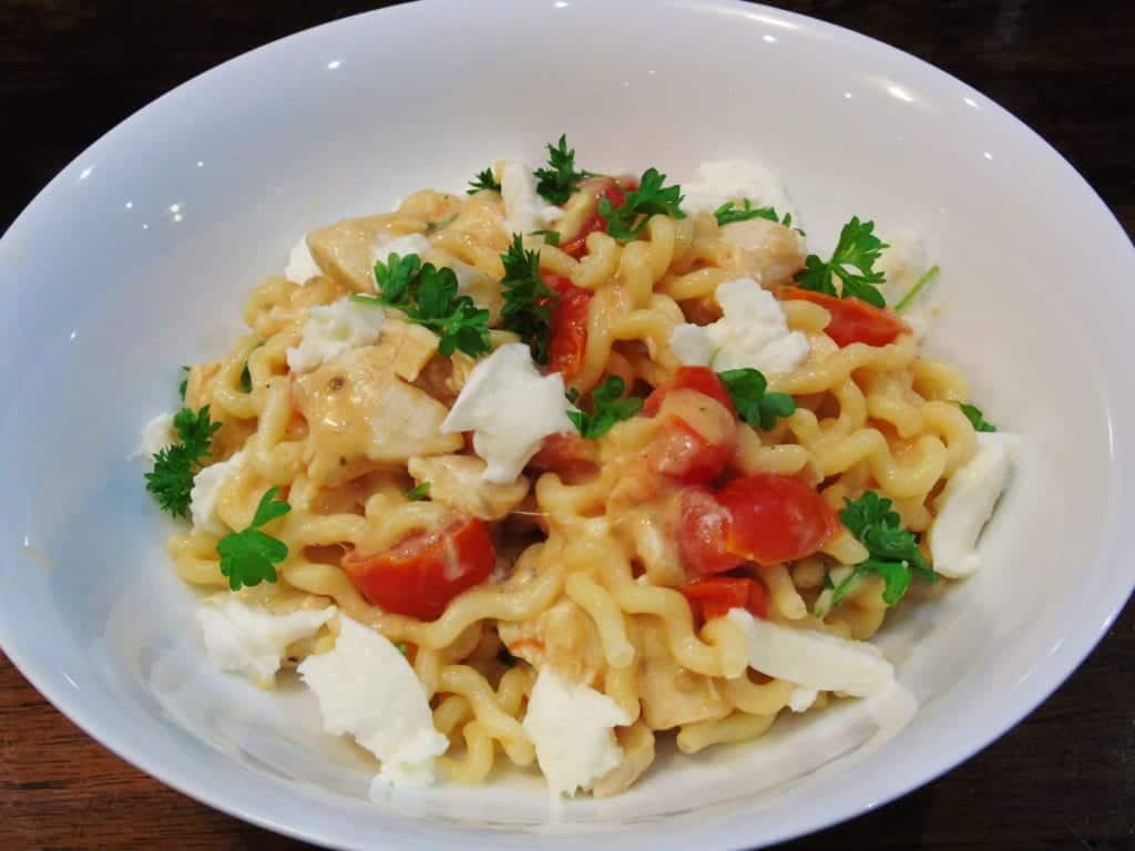 Syn - Free - Creamy - Chicken - Mozzarella - Pasta - Slimming - World - Recipe - Recipes - Easy - Quick