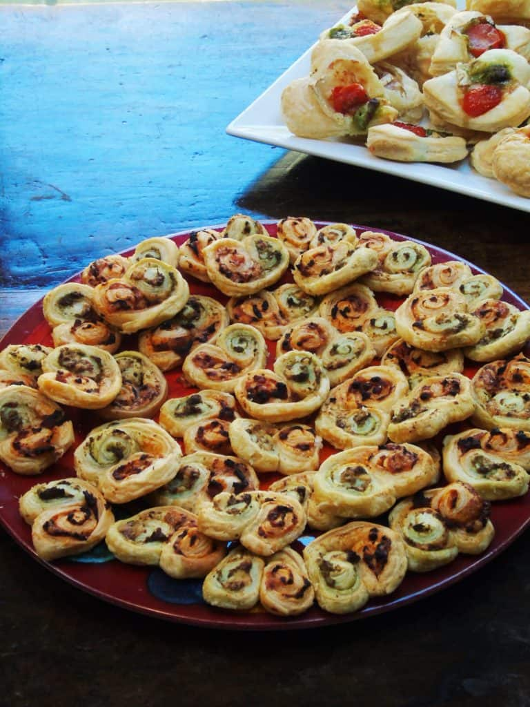Low Syn Puff Pastry Pesto Swirls Basement Bakehouse