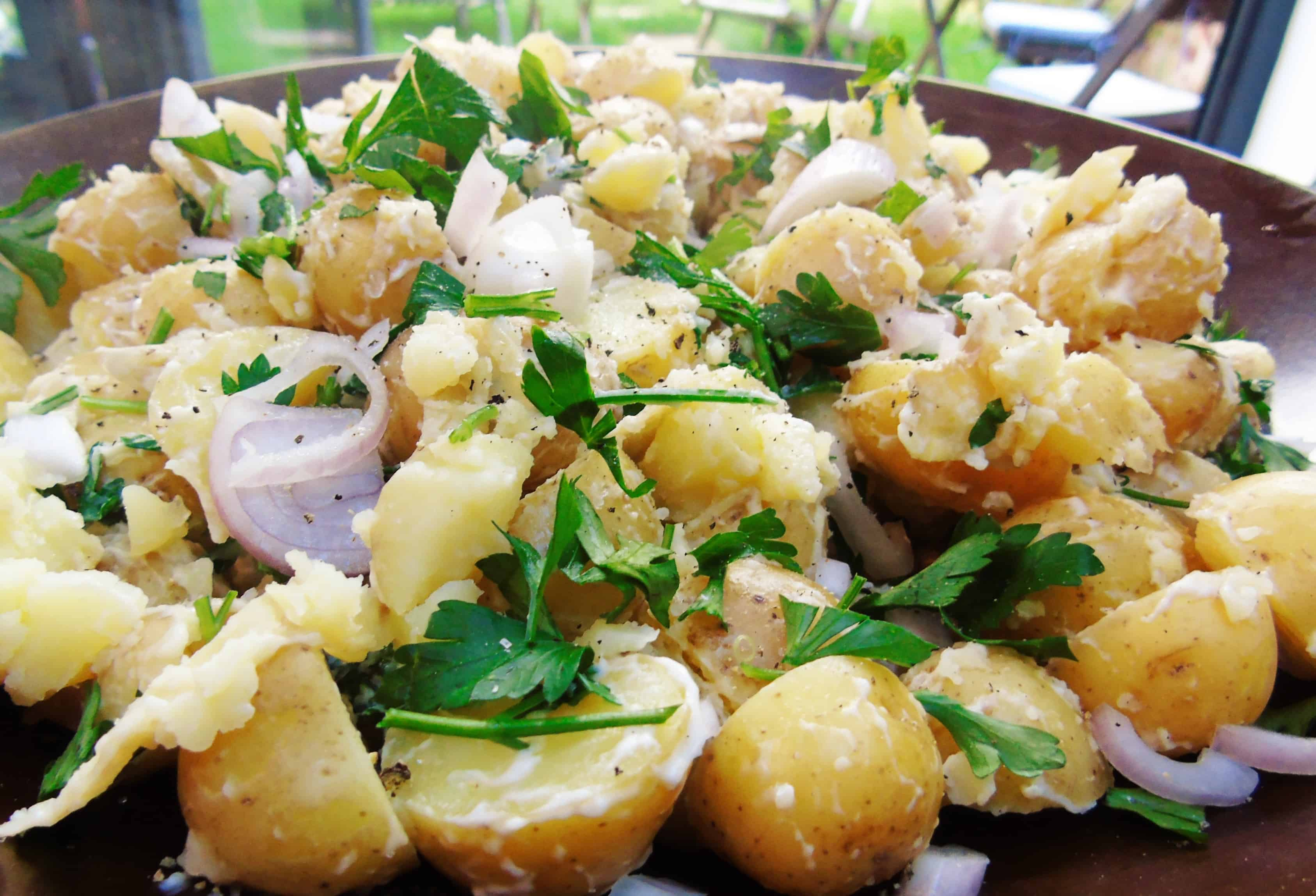Low Syn Potato Salad - Slimming World - Easy - Meal Prep - Ideas - Recipe