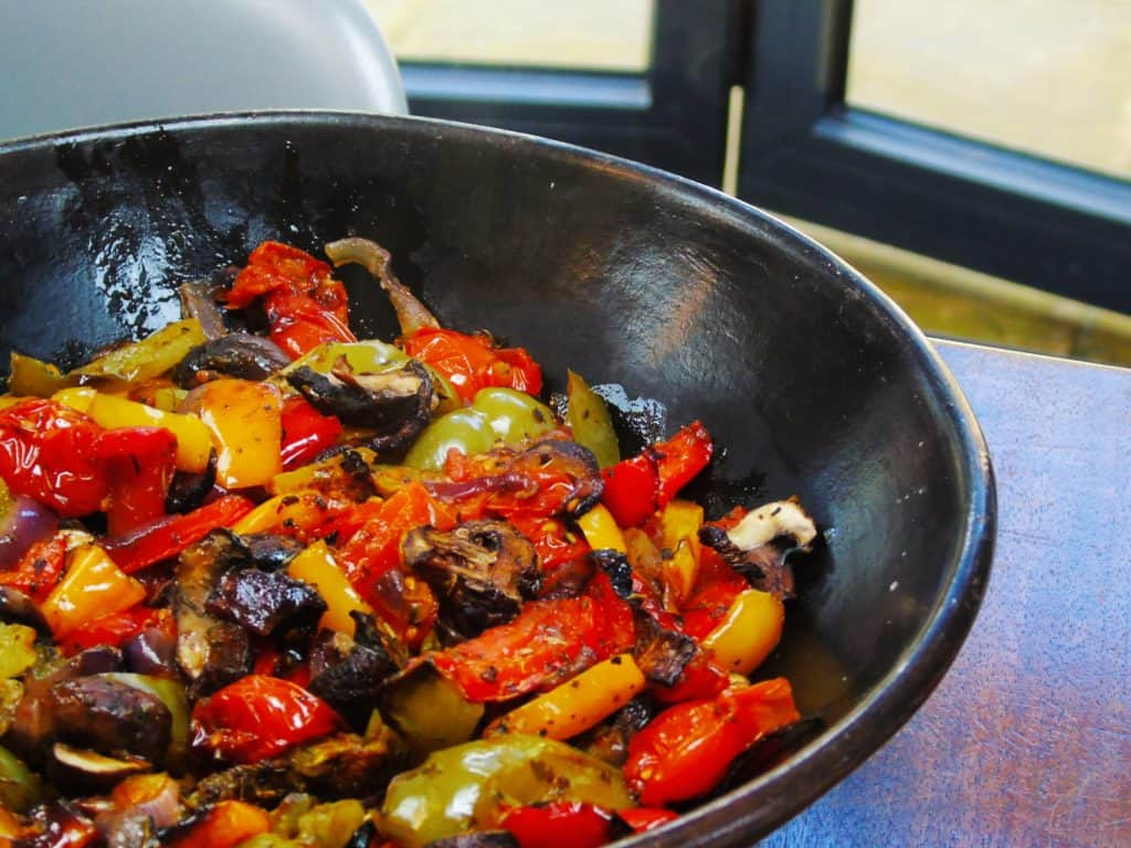 Syn Free Roasted Peppers - Slimming World - Syn Free - Dinner - Easy - Oven Roasted