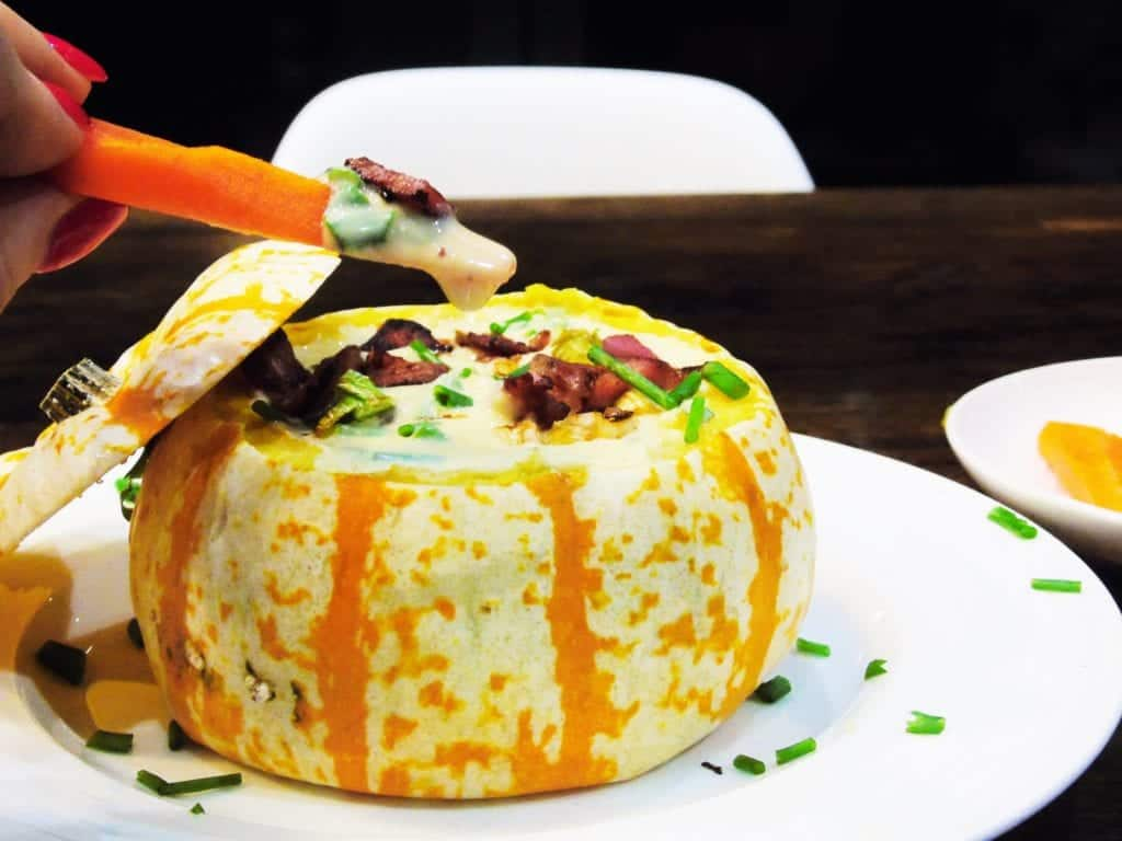 Syn Free Halloween Munchkin Pumpkin Dip - Slimming World - Easy Recipe - Healthy Halloween Recipe