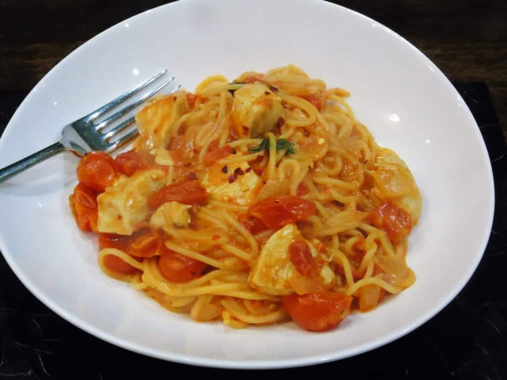 Syn - Free - One - Pot - Pasta - Chilli - Chicken - Cheese - Slimming - World - Healthy