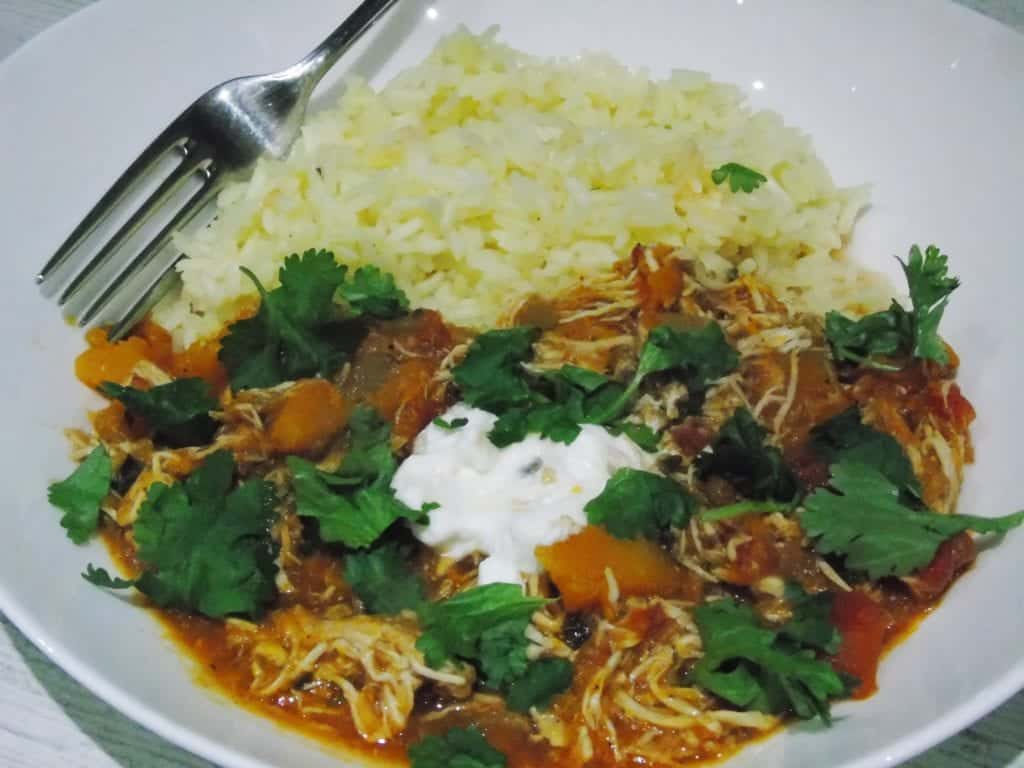 Syn - Free - Slow - Cooked - Chicken - Butternut - Squash - Curry - Slimming - World