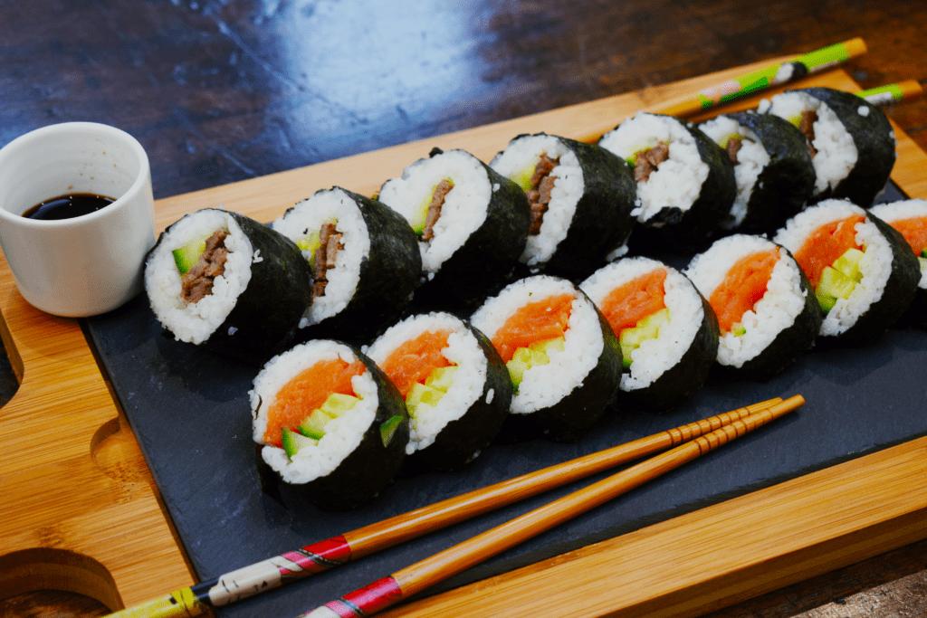 Homemade Syn Free Sushi