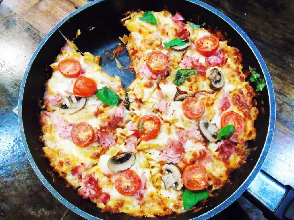 Syn Free Slimming World Pizza - One Pot Penne Pizza Bake