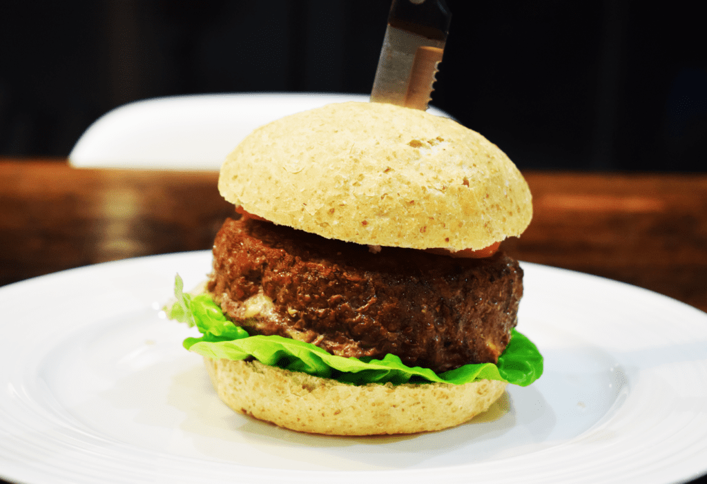 Cheese & Bacon Stuffed Burger - Syn Free on Slimming World