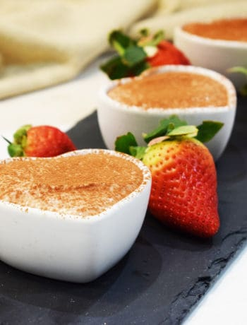 Healthy Chocolate Cheesecake - Pots - Slimming World - Pudding - Valentine's Day - Low Syn