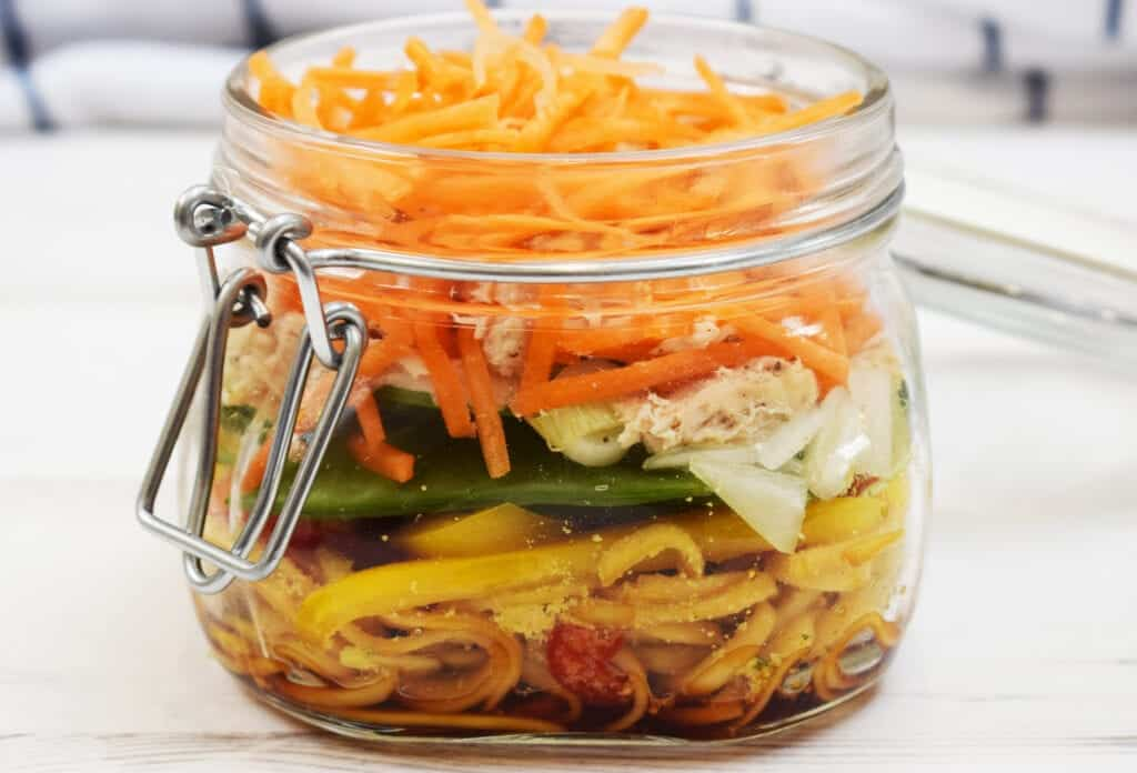 Healthy - Homemade Pot Noodles - Syn Free - Slimming World