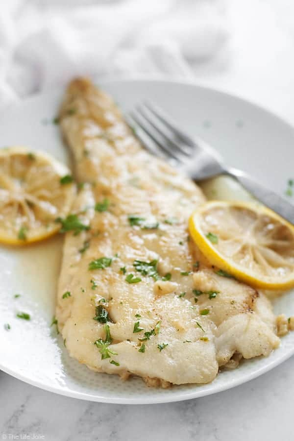 Date Night Fish For Two With A Lemon Sherry Pan Sauce