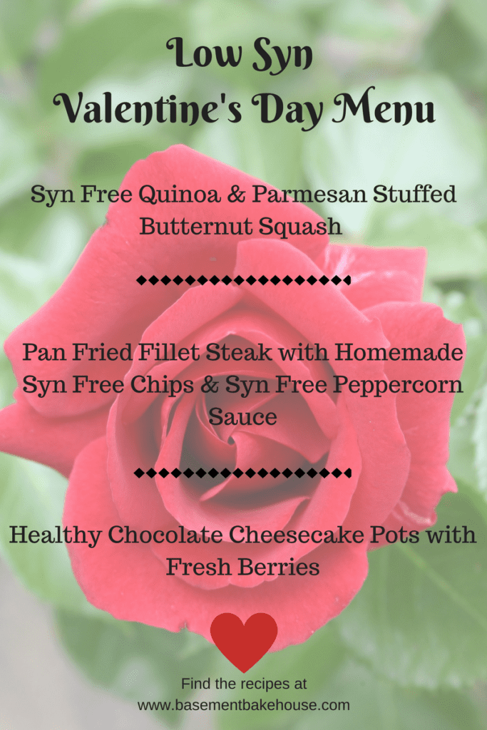Syn Free - Valentine's Day - Menu - Recipe Ideas - Meal Ideas