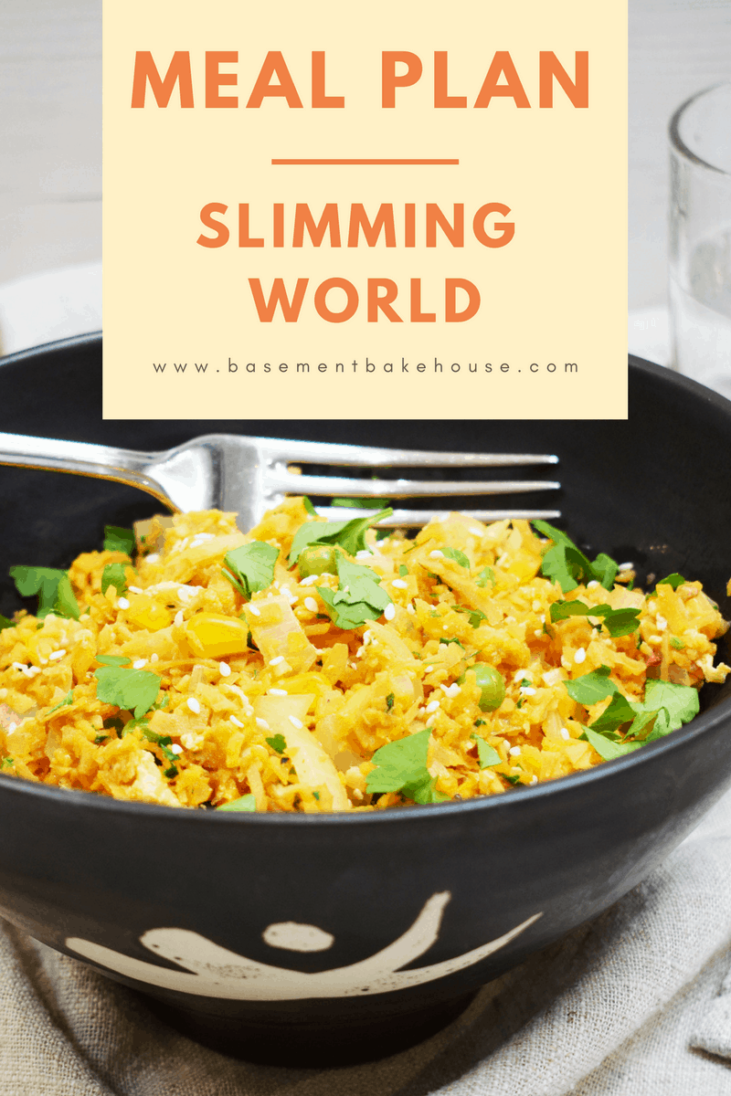 Seven day slimming world meal plan basement bakehouse Slimming world meal ideas