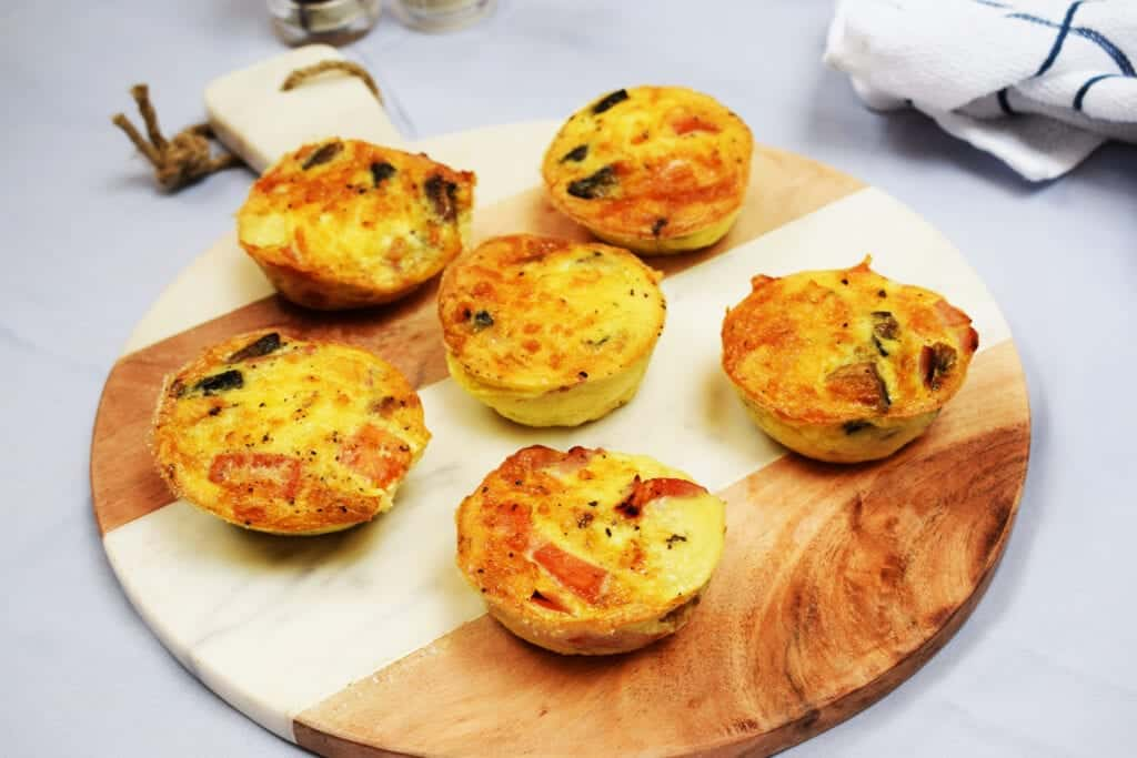 Make Ahead Bacon Cheese Veg Breakfast Muffins Basement Bakehouse