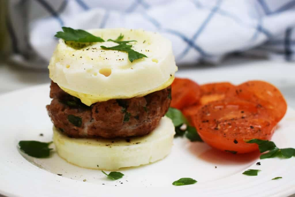 Low Carb Breakfast Burger - Syn Free - Low Carb - Gluten Free
