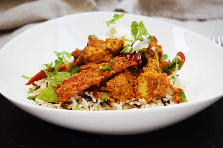 Homemade Healthy Chicken Tikka Masala