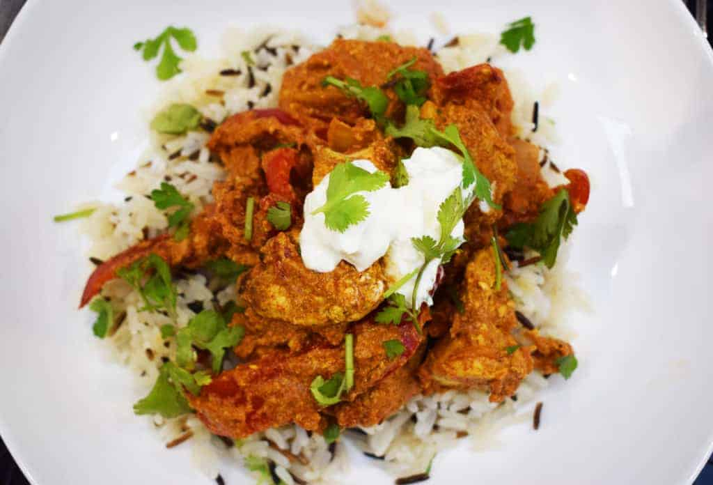 Homemade Healthy Chicken Tikka Masala - Healthy Recipe - Syn Free Fakeaway on Slimming World