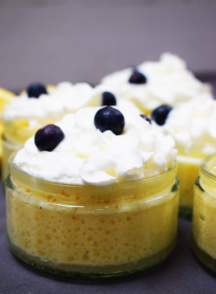 Healthy Lemon Mousse - Recipe - Slimming World - Pudding