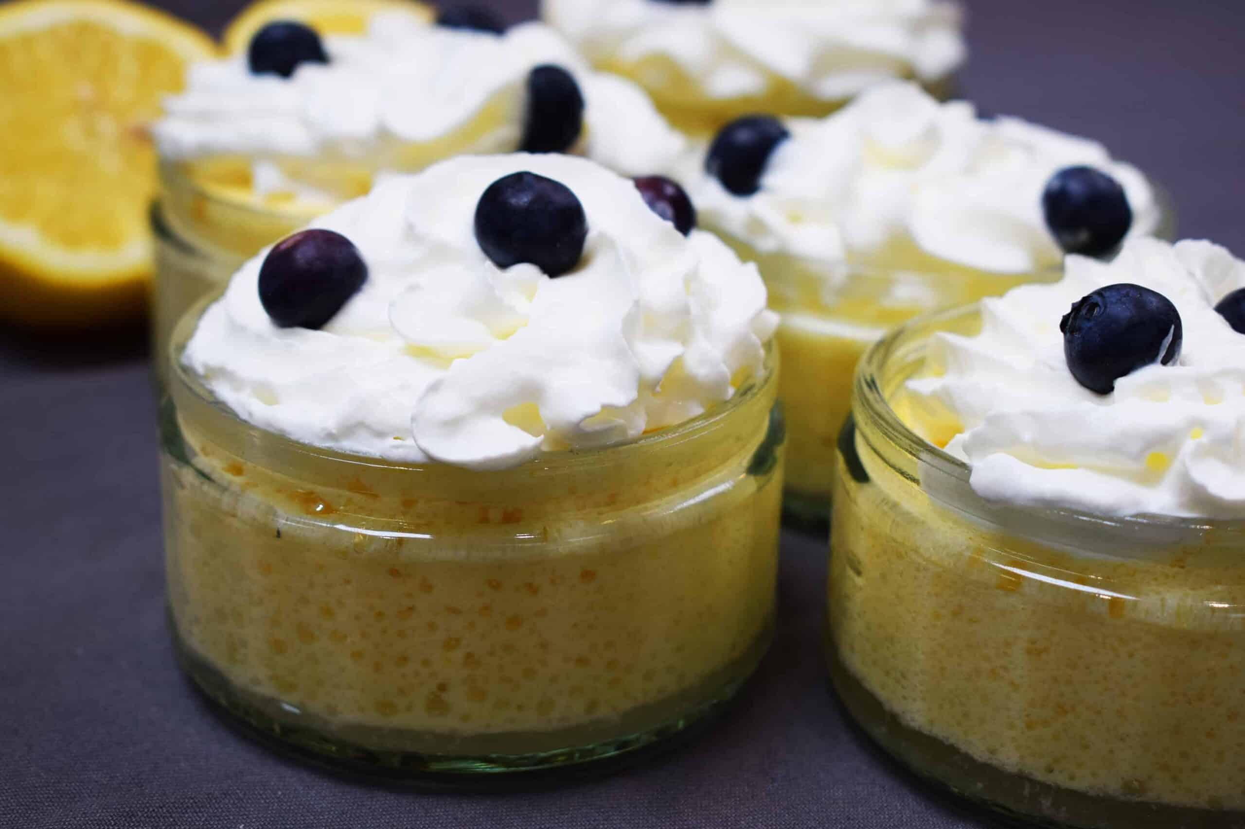 Healthy - Lemon Mousse - Recipe