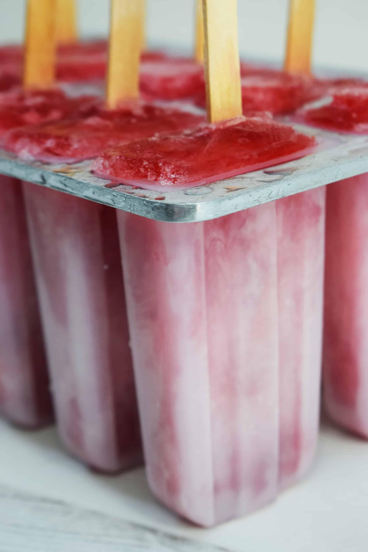 Easy Peasy Homemade Fresh Berry Ice Lollies