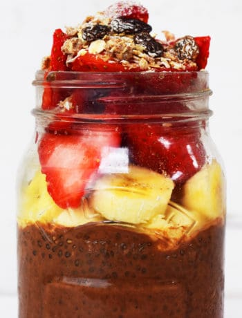 Chocolate and Chia Seed Pudding - Slimming World - Healthy Extra B