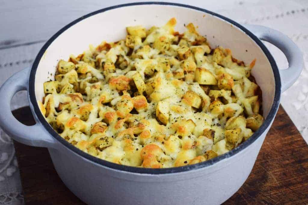 Healthy - Roast Potato - Bolognese Bake - Slimming World - Syn Free - Recipe