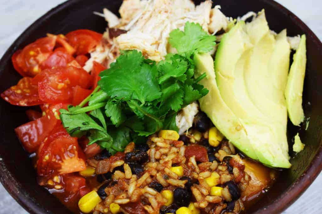 Easy Peasy - Slow Cooker Burrito Bowl - Instant Pot - Recipe - Slimming World - Syn Free