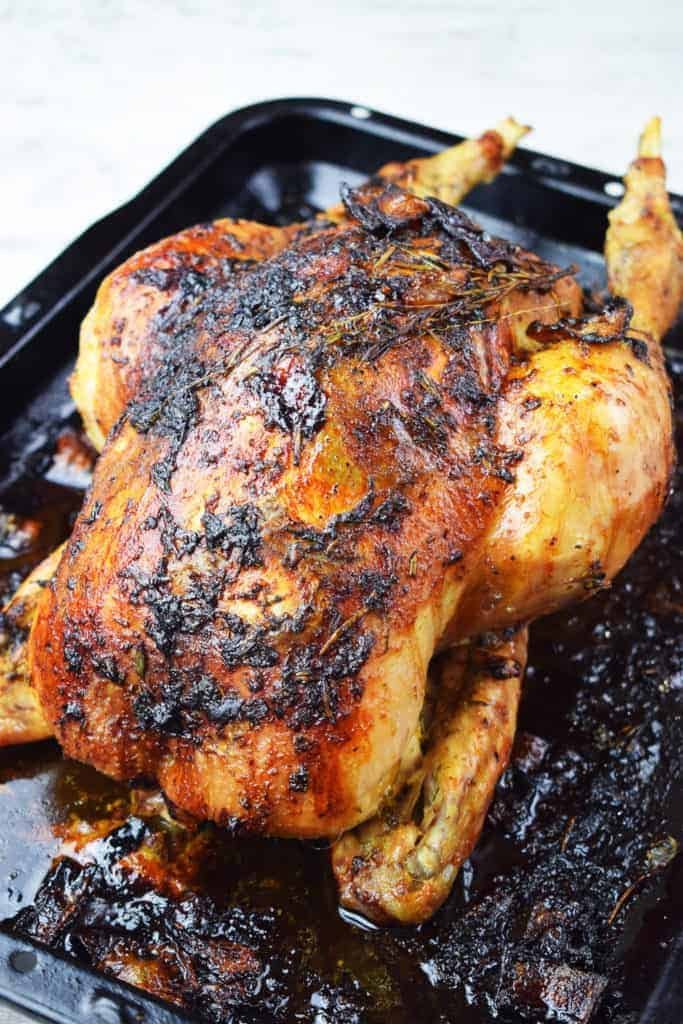 Best Ever - Lemon and Herb - Roast Chicken - Recipe - Slimming World - Roast Dinner - Healthy - Roast