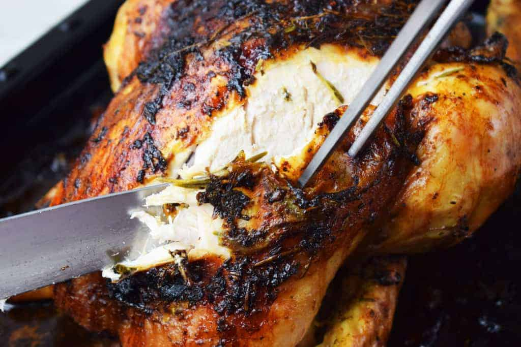 Best Ever - Lemon and Herb - Roast Chicken - Recipe - Slimming World - Roast Dinner - Healthy - Roast