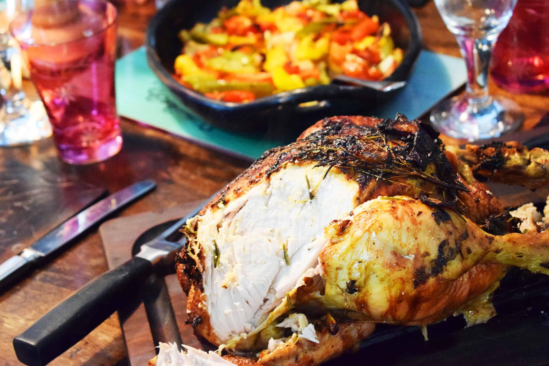 Best Ever Lemon & Herb Roast Chicken - Basement Bakehouse