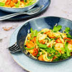 Easy Peasy 10 Minute Chilli and Prawn Linguine