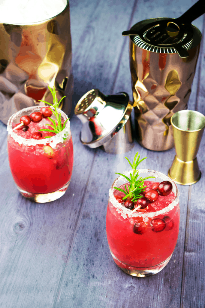 Skinny Cranberry Margarita - Healthy - Slimming World - Low Sugar