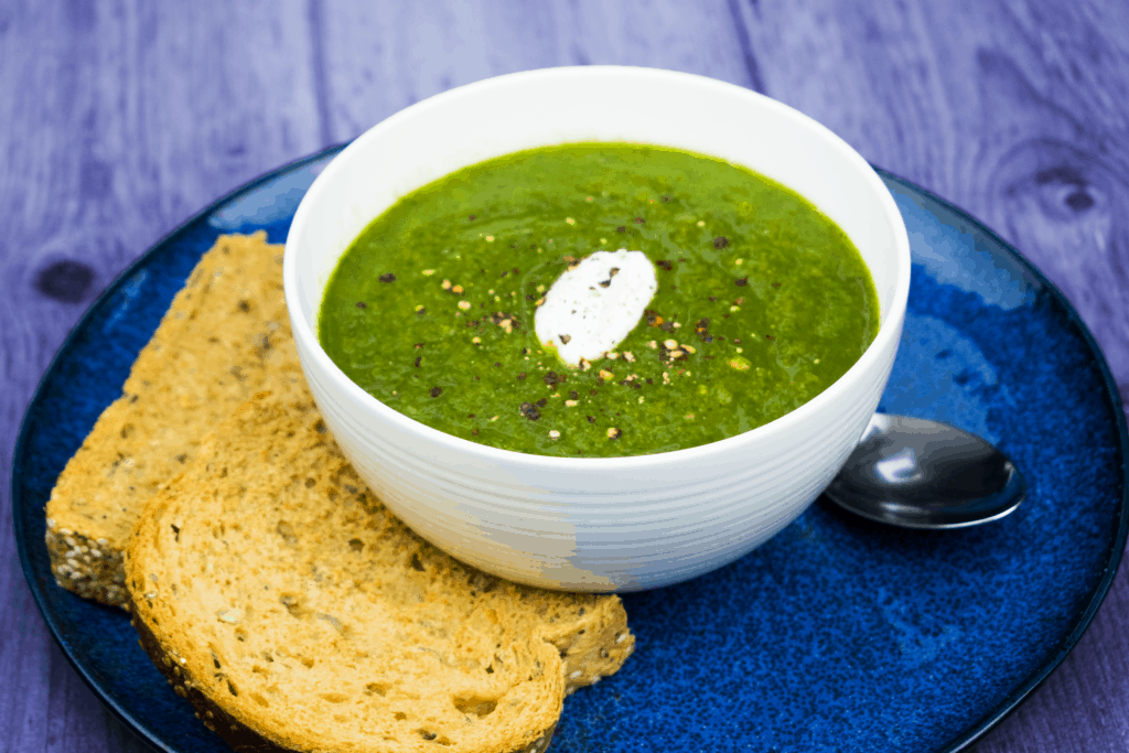 Spinach - Carrot - Leek - Soup - Slimming World - Healthy - Syn Free
