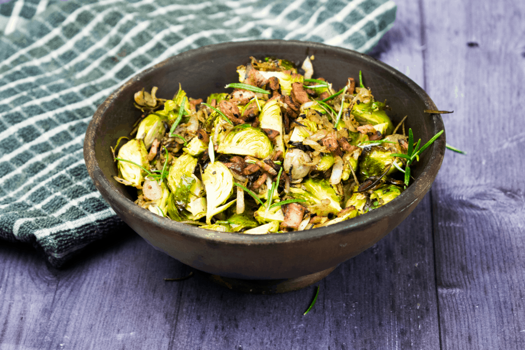 Roasted - Garlic & Rosemary - Brussels Sprouts