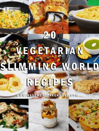 vegetarian slimming world recipes