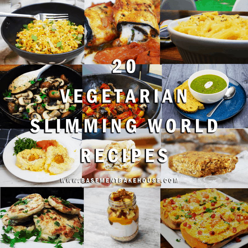vegetarian slimming world recipes