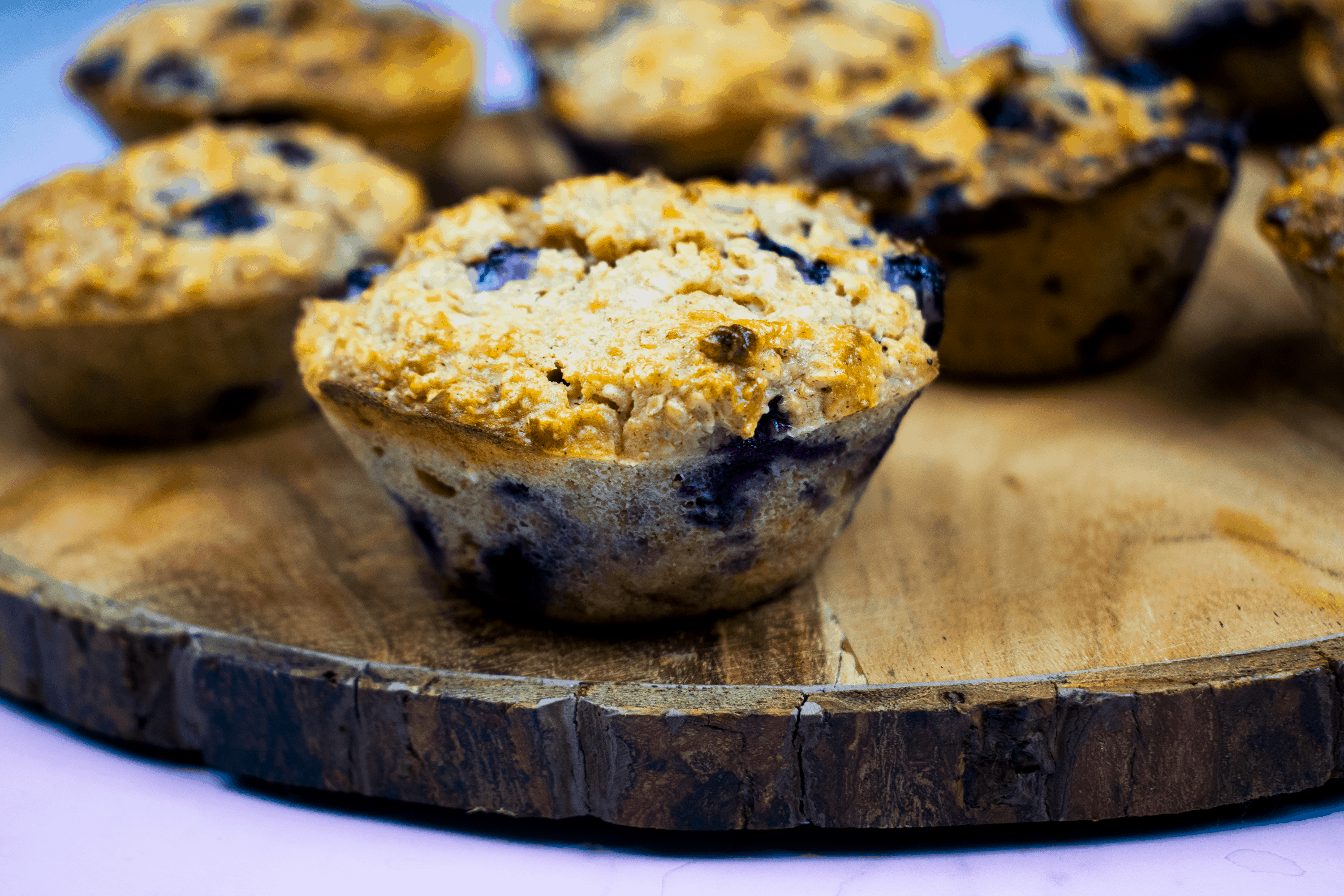 Healthy Gluten Free Blueberry And Oat Muffins Basement Bakehouse